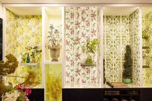 Olivia Gregory Stylist Cole & Son Showroom